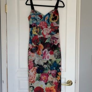 Yes Baker floral dress